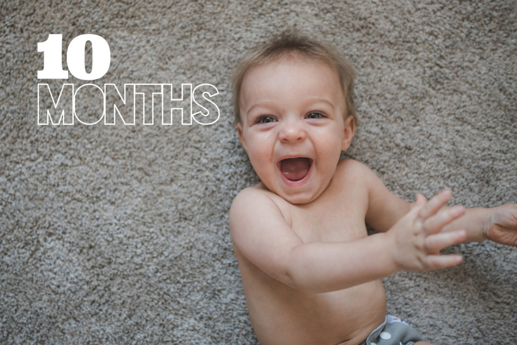 Lincoln at 10 Months | Digital Baby Book