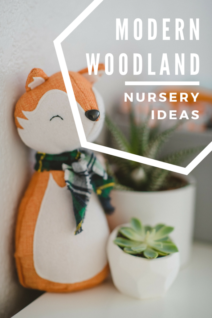 Trying to create the perfect woodland themed nursery for baby? Check out these great ideas and fun finds that put a modern twist on the woodland theme.  www.craftyteachermama.com