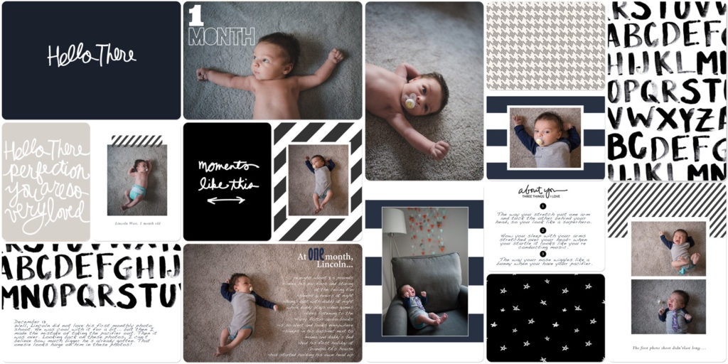 Tips to Setting up a Baby Book Scrapbook (and Actually Finishing It)
