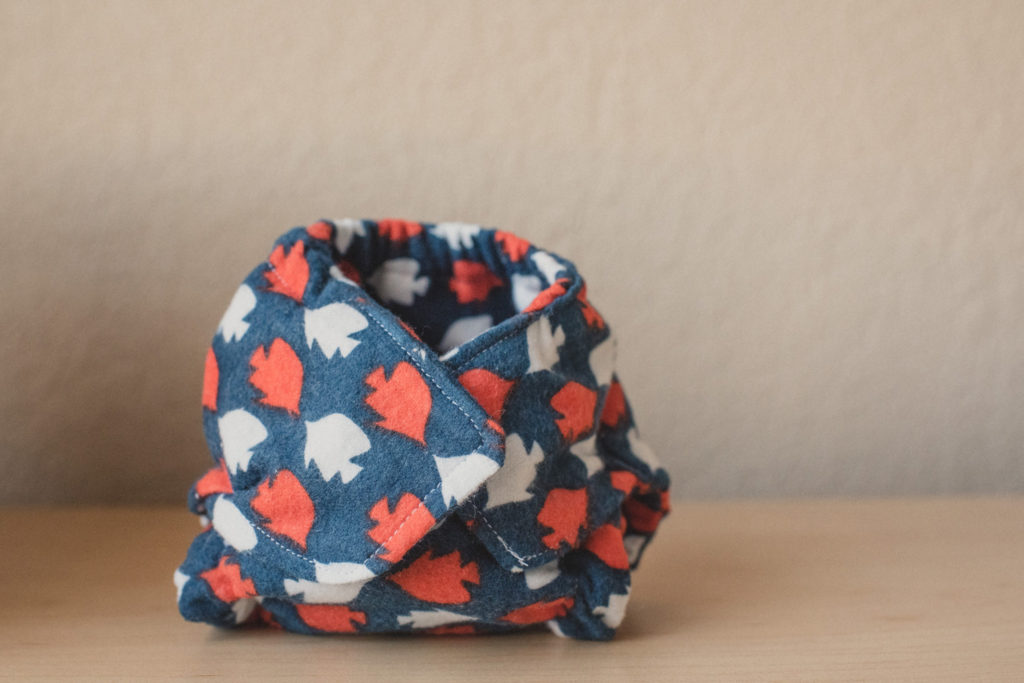 How I'm making fitted cloth diapers